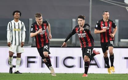 Serie A, Juve-Milan 0-3: i rossoneri scappano nella corsa Champions