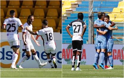 Serie A, vittoria d'oro per il Cagliari in casa del Benevento
