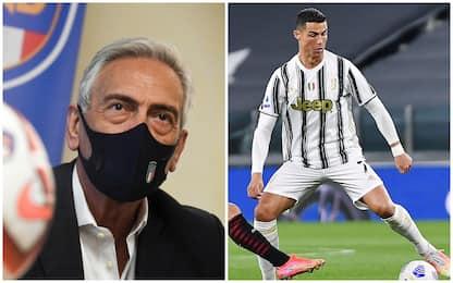 """Gravina: """"Se Juve resta in Superlega esclusa dalla prossima Serie A"""""""