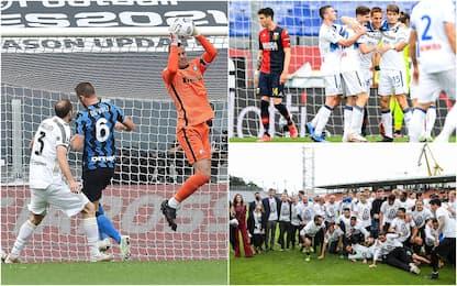 Serie A: Atalanta in Champions, Spezia salvo. Juve-Inter 3-2