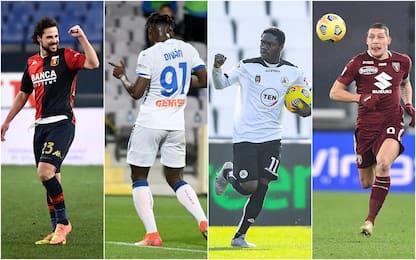 Serie A, risultati in diretta: Genoa-Atalanta 3-4 e Spezia-Torino 4-1
