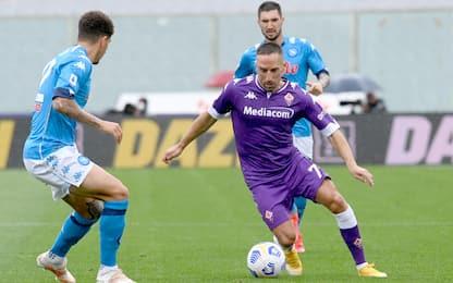 Serie A, i risultati in diretta: Fiorentina-Napoli 0-2