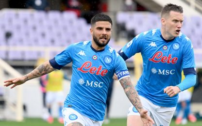 Serie A, Fiorentina-Napoli 0-2. Benevento-Crotone e Udinese-Samp: LIVE