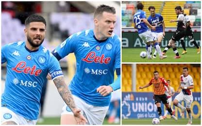 Serie A: ok Napoli e Sassuolo. Pari Benevento. Milan-Cagliari 0-0 LIVE