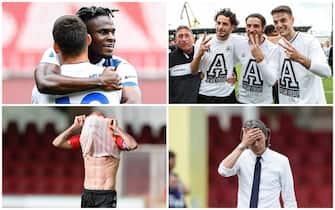 Una serie di immagini dai campi di Serie A