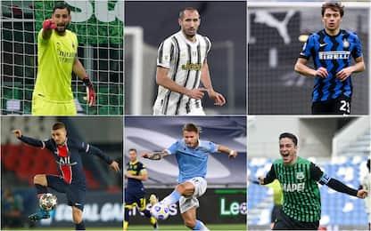Nazionale, i pre-convocati da Mancini per gli Europei. FOTO