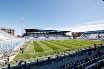 A general view inside the Mapei Stadium in Reggio Emilia, Italy, 02 May 2021. ANSA / SERENA CAMPANINI