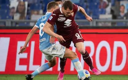 Lazio-Torino 0-0: i granata salvi. Benevento retrocesso in Serie B