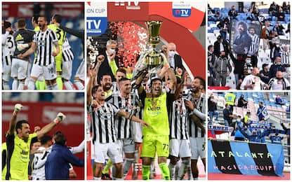 Finale Coppa Italia, vince la Juventus: 2-1 all'Atalanta. FOTO