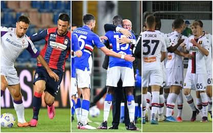Serie A, vincono Sampdoria e Genoa. Crotone-Fiorentina finisce 0-0