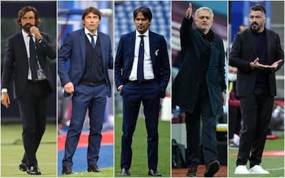 Allenatori Serie A, da Conte a Pirlo: la situazione delle panchine