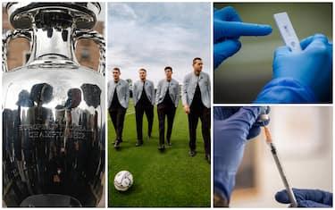 Europei calcio, dai vaccini ai tamponi: ecco il protocollo anti Covid
