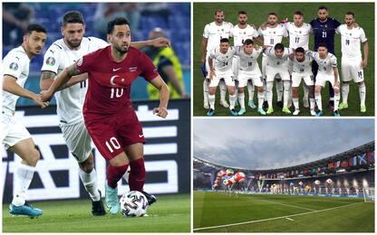 Euro 2020, inizia il torneo: all'Olimpico la festa dei tifosi. FOTO