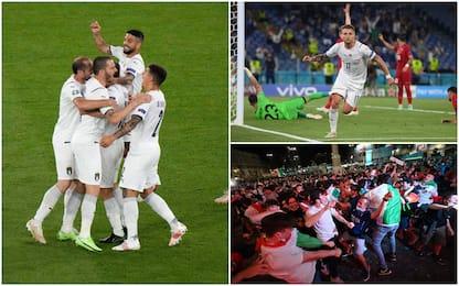 Europei, Italia-Turchia 3-0: autogol Demiral, poi Immobile e Insigne