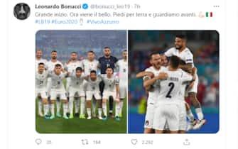 Il post di Leonardo Bonucci dopo la vittoria dell'Italia sulla Turchia a Euro 2020