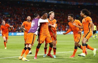 Euro 2020, i risultati delle partite di oggi: Olanda-Ucraina 3-2