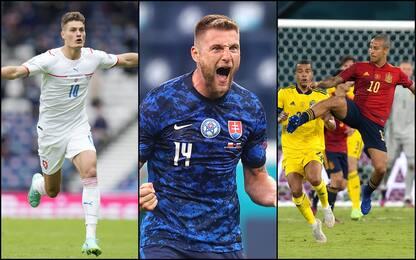 Euro 2020: vincono Rep. Ceca e Slovacchia, Spagna-Svezia 0-0. VIDEO