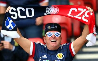 Euro 2020, in campo Scozia-Rep. Ceca: risultato sullo 0-0. DIRETTA