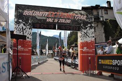 Dolomiti Extreme Trail, festa per la vicentina Federica Boifava