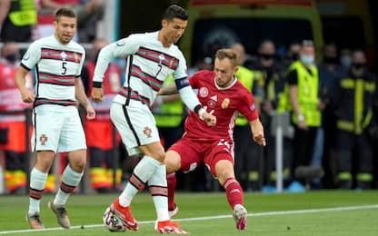 Europei 2021, Ungheria-Portogallo 0-0 LIVE. Stasera Francia-Germania
