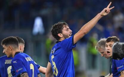 Europei 2021, Italia-Svizzera 1-0, gol di Locatelli: diretta. FOTO