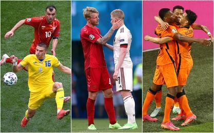 Euro 2020: vincono Ucraina, Belgio e Olanda. GLI HIGHLIGHTS