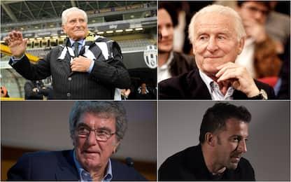 Da Trapattoni a Del Piero, gli omaggi a Giampiero Boniperti