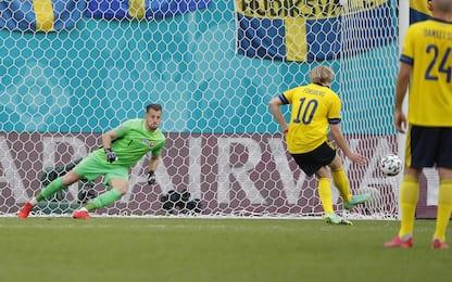 Euro 2020: Svezia batte Slovacchia. Alle 18 Croazia-Rep. Ceca. LIVE