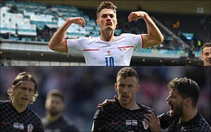 Europei, Croazia-Rep. Ceca 1-1. In campo Inghilterra-Scozia 0-0. LIVE