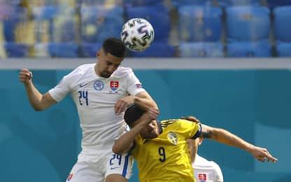 Euro 2020: in campo Svezia-Slovacchia 0-0. LIVE