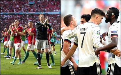 Euro 2020: pari Francia, vince la Germania. Alle 21 la Spagna. DIRETTA