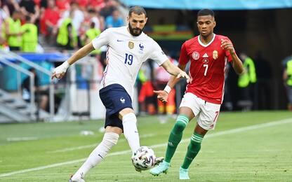 Euro 2020, Ungheria-Francia 0-0. LIVE