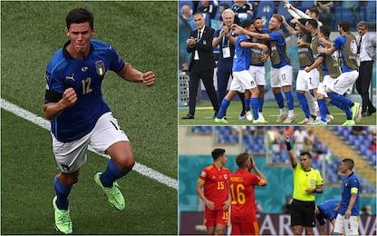 Euro 2020: Italia-Galles 1-0, Azzurri primi nel girone A. HIGHLIGHTS
