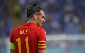 Gareth Bale durante Italia-Galles