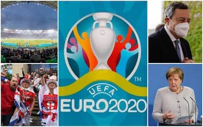 "Europei, Londra: finale a Wembley. Merkel: ""Uefa sia responsabile"""
