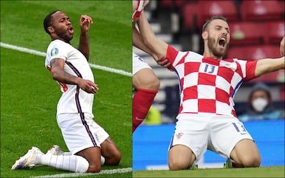 Euro 2020, Croazia-Scozia 1-0 e Rep. Ceca-Inghilterra 0-1. DIRETTA