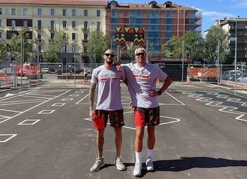 Basket, Slums Dunk riqualifica il campo di viale Stelvio a Milano