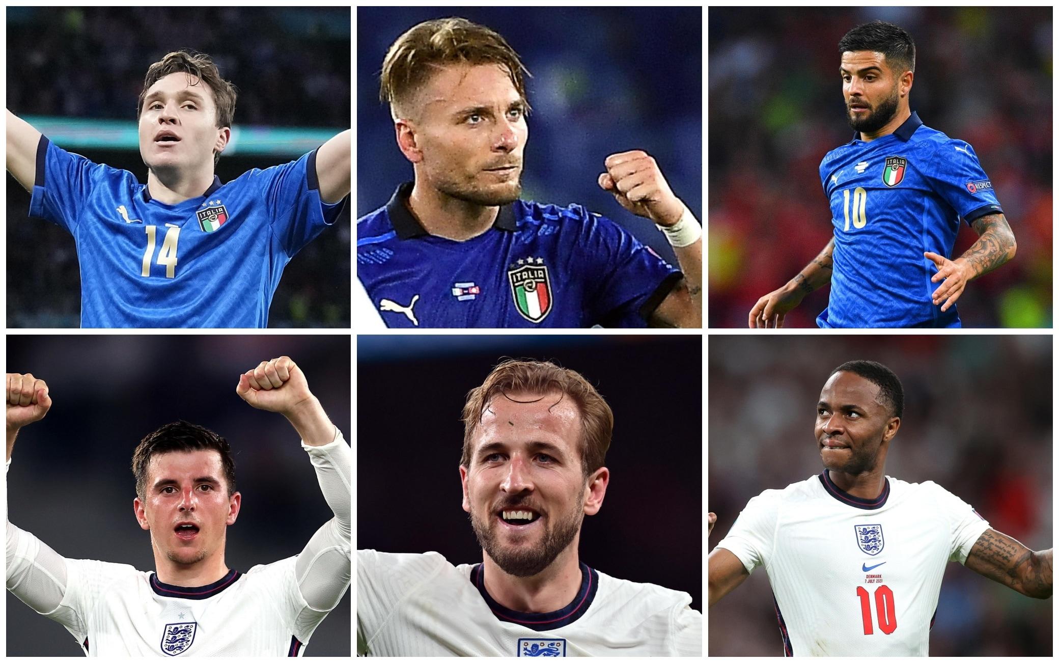 Euro 2020, finale Italia-Inghilterra: ecco le formazioni ufficiali ...