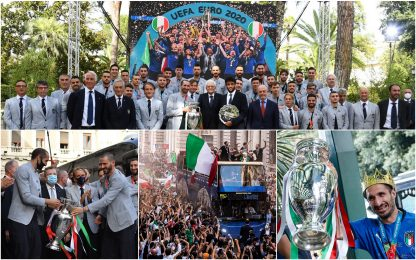 Italia campione d'Europa, la giornata degli Azzurri. FOTO