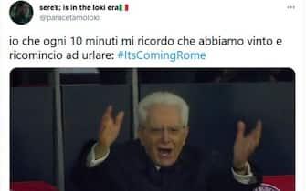 meme su italia inghilterra, mattarella