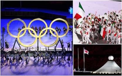 Cerimonia d'apertura Olimpiadi Tokyo 2020, le immagini più belle