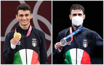 Tokyo 2020: Dell'Aquila oro nel taekwondo, Samele sciabola d'argento
