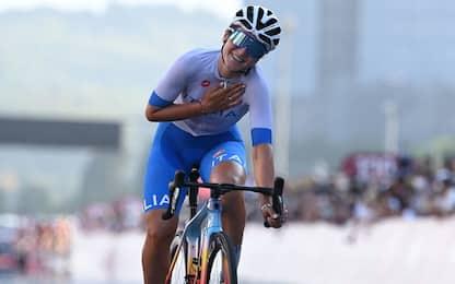 Tokyo 2020, terza medaglia Italia: Longo Borghini bronzo nel ciclismo