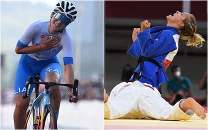 Tokyo 2020, bronzo a Longo Borghini nel ciclismo e Giuffrida nel judo