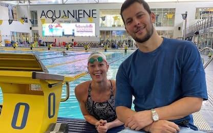 Federica Pellegrini ufficializza love story con Matteo Giunta