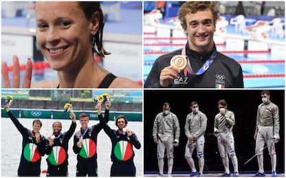 Tokyo, argento nella sciabola e altri due bronzi per l'Italia