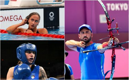 Tokyo, altre tre medaglie: bronzo Quadarella e Testa, argento Nespoli