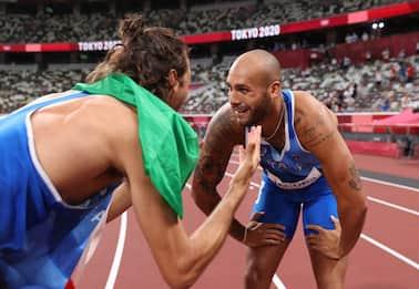 Jacobs e Tamberi sono oro alle Olimpiadi: l'Italia ha due Superman
