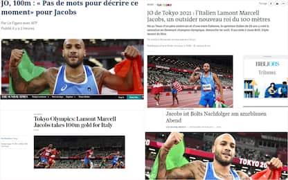 Tokyo 2020, Jacobs oro nei 100 metri: l'impresa sulla stampa estera