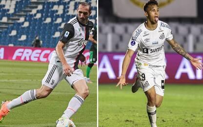 Calciomercato, la Juventus acquista Kaio Jorge. Rinnovo per Chiellini